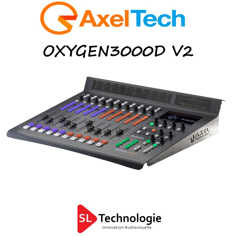 Oxygen 3000 Digital V2 Axel Technology