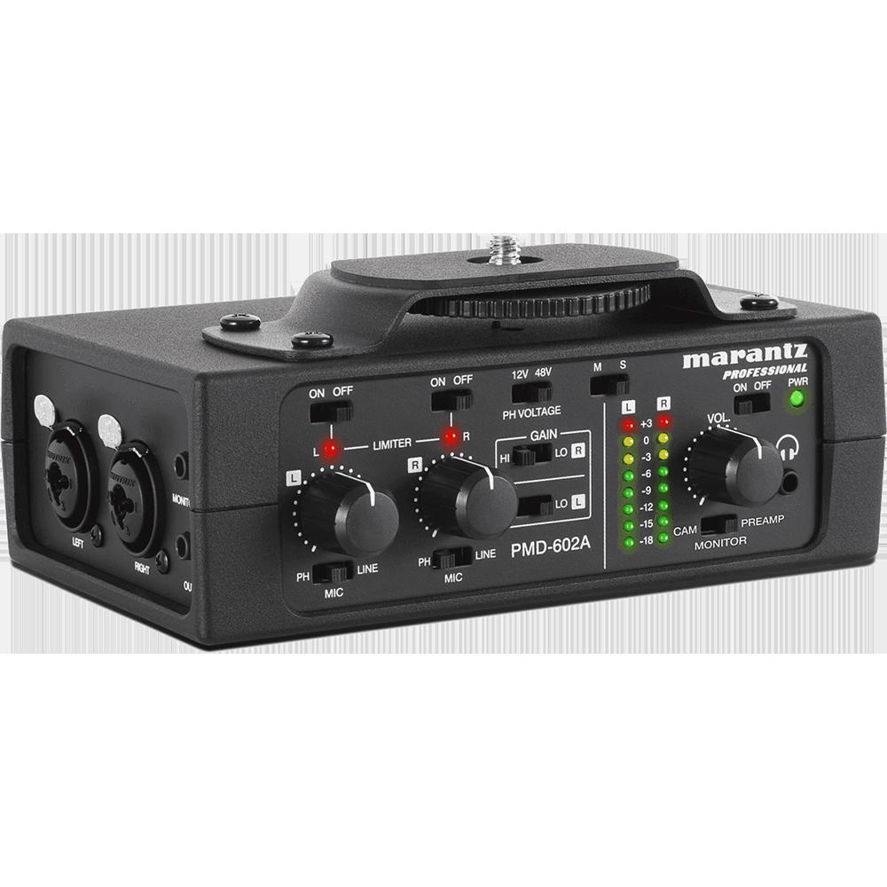 PMD602A Interface 2 canaux Marantz Pro