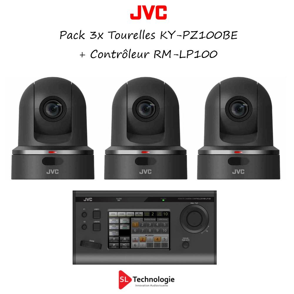 Pack 3x KY-PZ100BE JVC