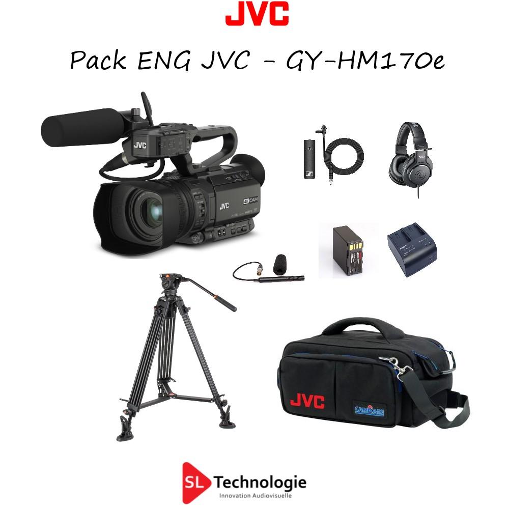 Pack Caméscope ENG JVC GY-HM170e