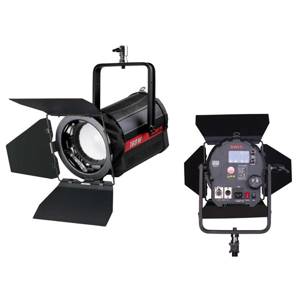 S-2320 Swit Spot à LED bicolore pour studio 3000K-8000°K LED COB ultra-brillante de 160 W