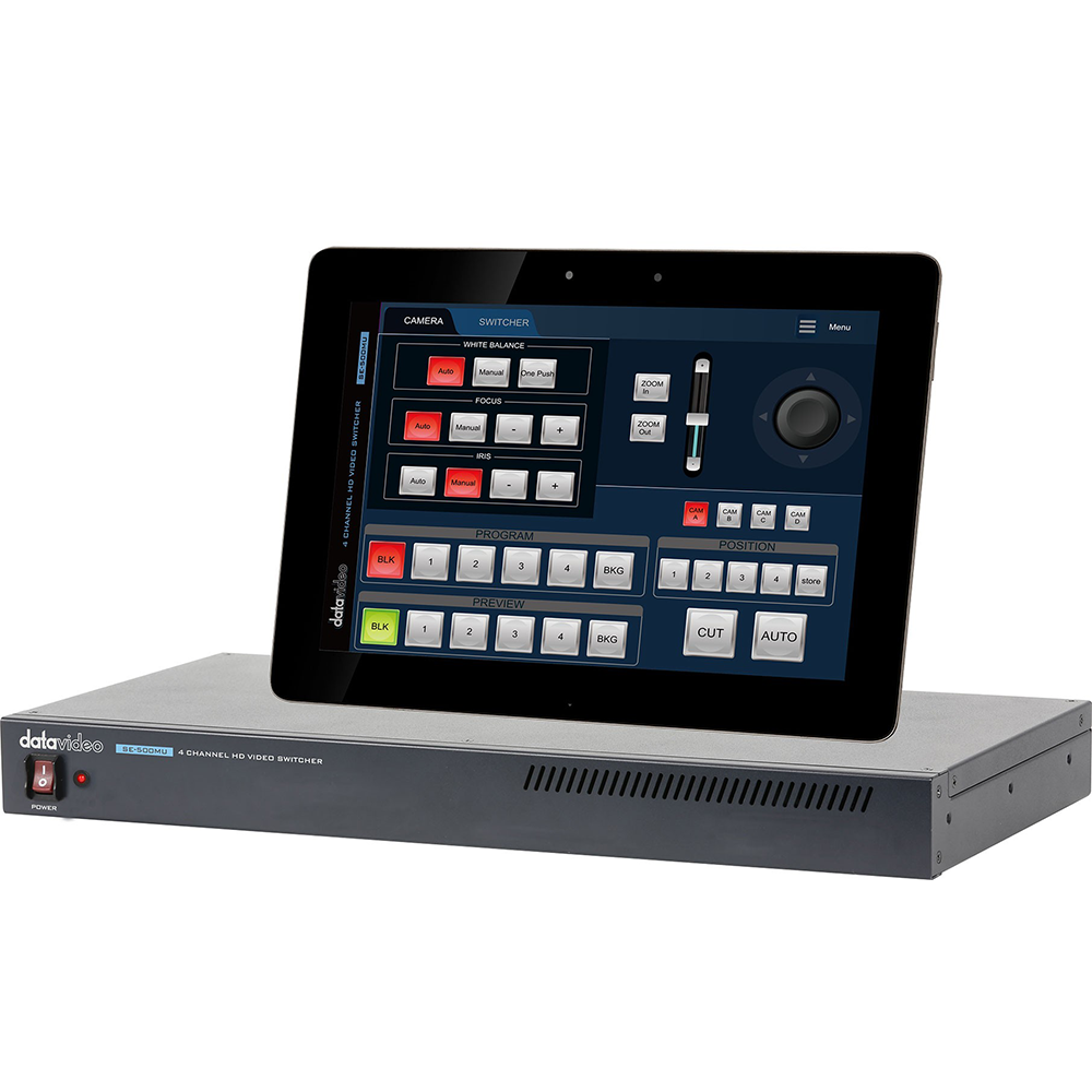 SE-500MU Datavideo Sélecteur vidéo HD 4 canaux