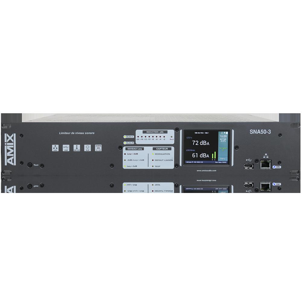 SNA50-3R – AMIX – NORM2017 Limiteur Sonore Conforme à La Réglementation Française