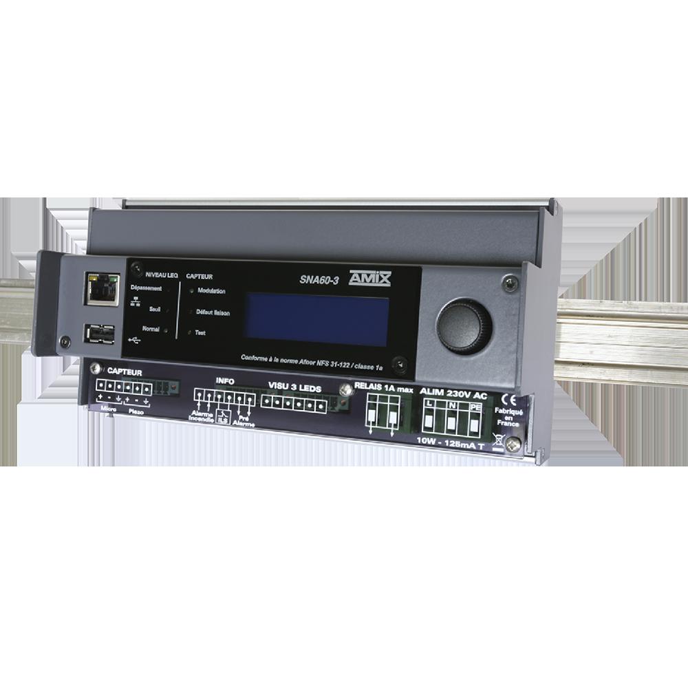 SNA60-3 – AMIX – Pack01 Limiteur Sonore Conforme à La Réglementation Française