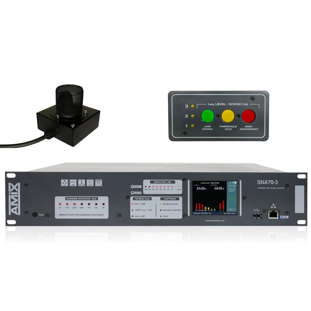 SNA70-3R – AMIX – Pack01 Limiteur Sonore Conforme à La Réglementation Française