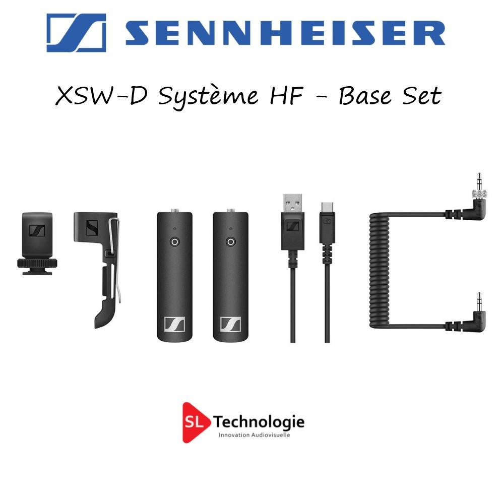 XSW-D Sennheiser Pack HF Base Set (émetteur 3,5mm + Récepteur)