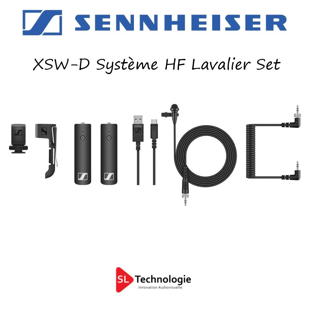 XSW-D Sennheiser Système HF Lavalier Set