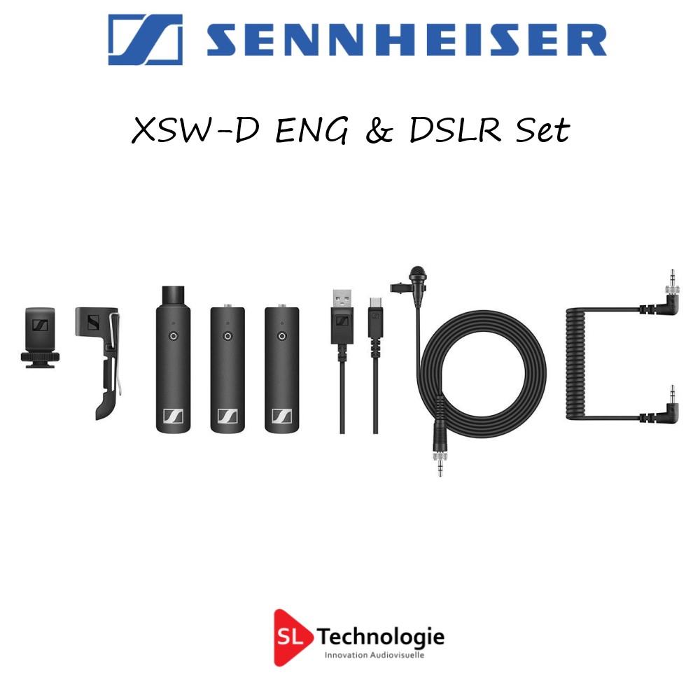 XSW-D Sennheiser Pack HF pour ENG & DSLR