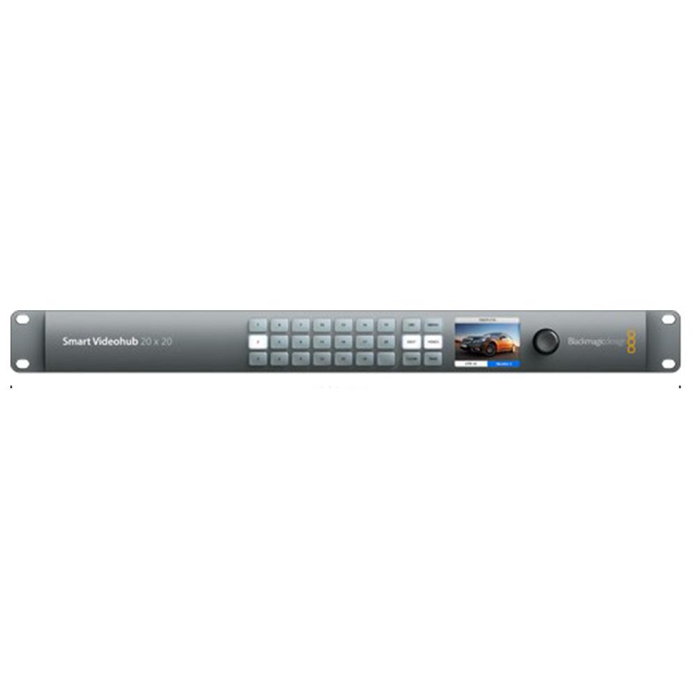 Smart Videohub 20×20 Blackmagic Design Grille de commutation