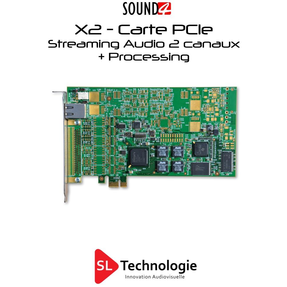 SOUND4 STREAM x2 Streaming Audio