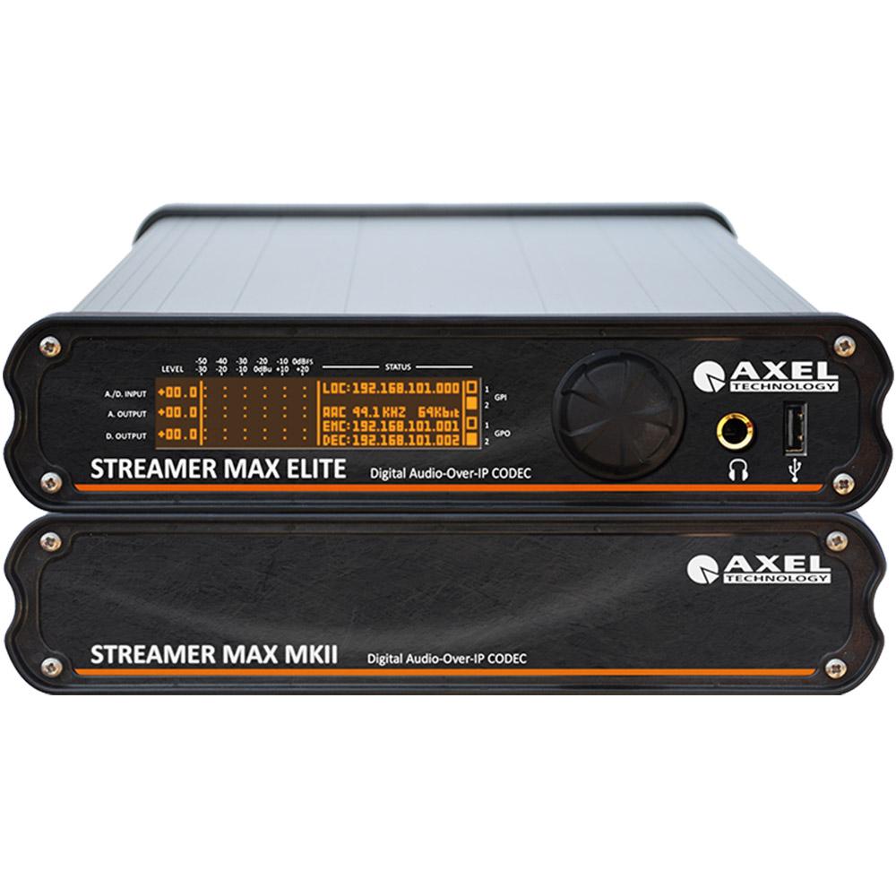 Streamer Max MKII Axel Technology