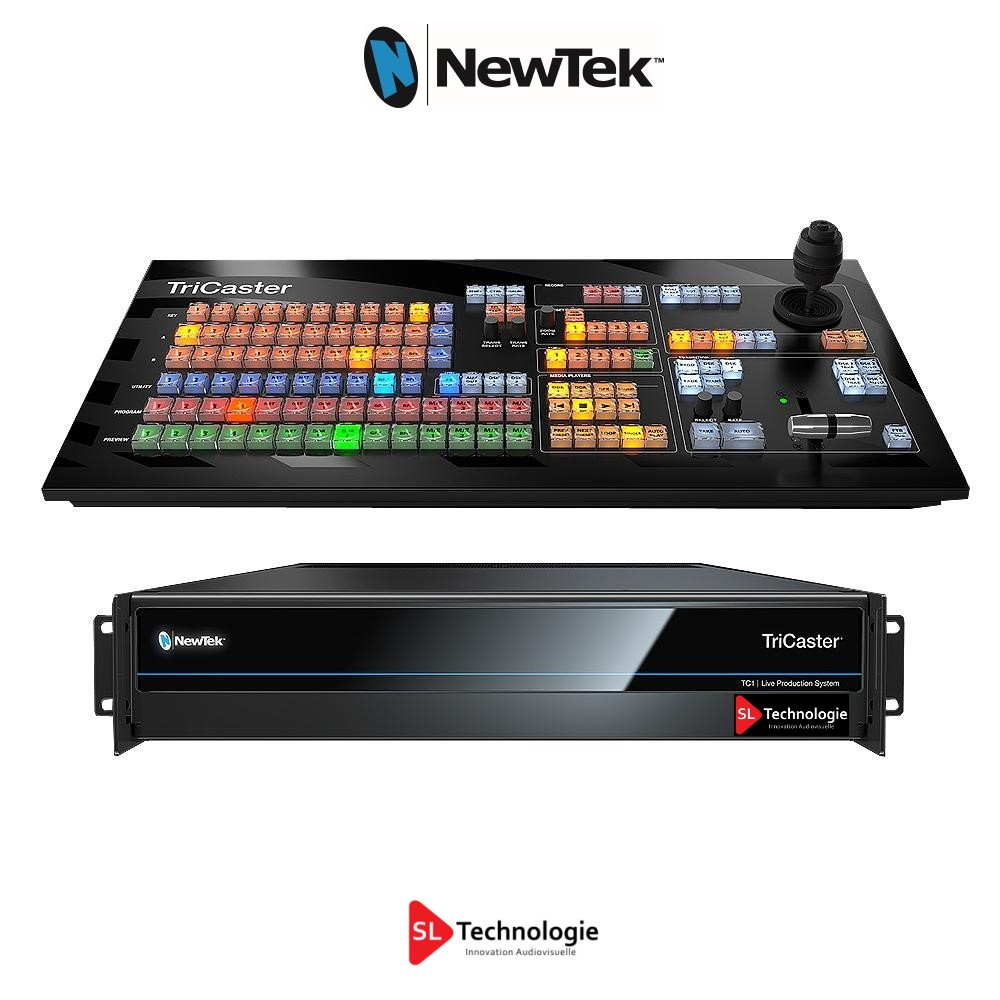 Tricaster TC1 Base Bundle NewTek + TC1SP