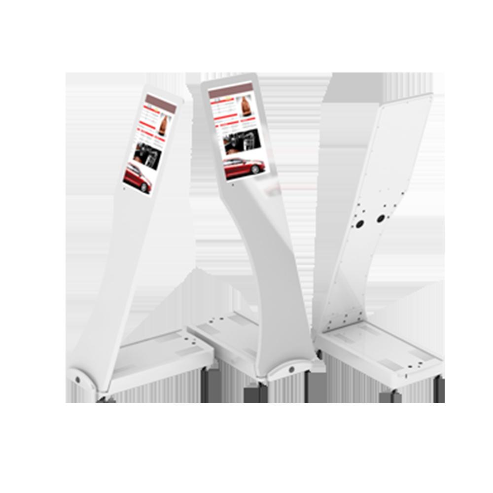 Totem Mobile Design Blanc 15,6» Full HD Tactile