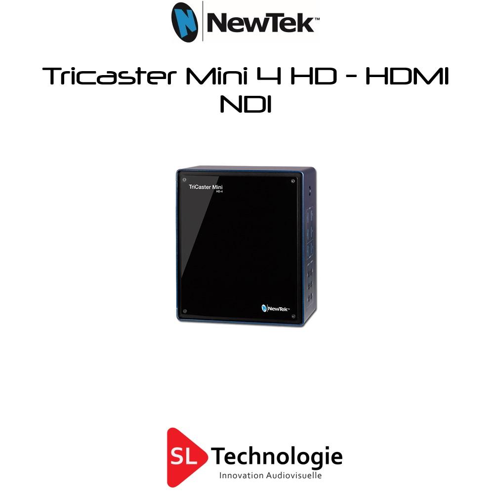 TriCaster Mini HD-4 Advanced NewTek