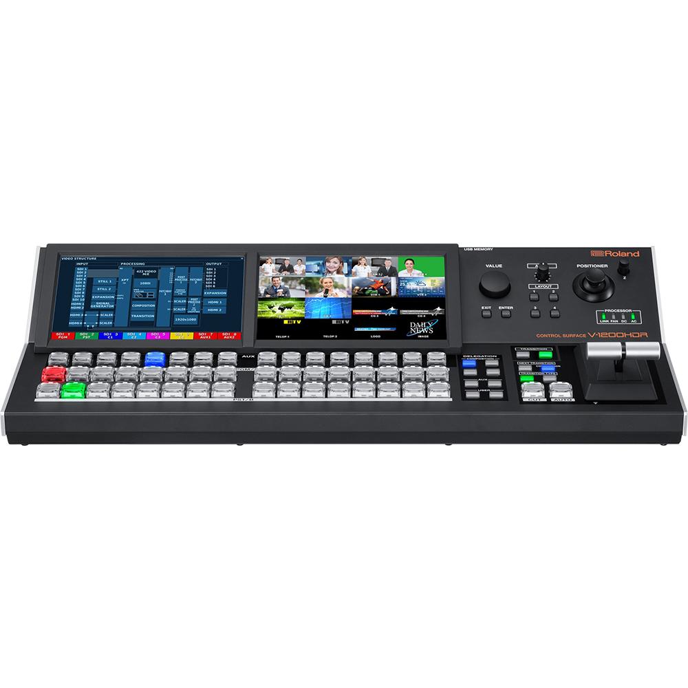 V-1200HDR Roland Surface de contrôle