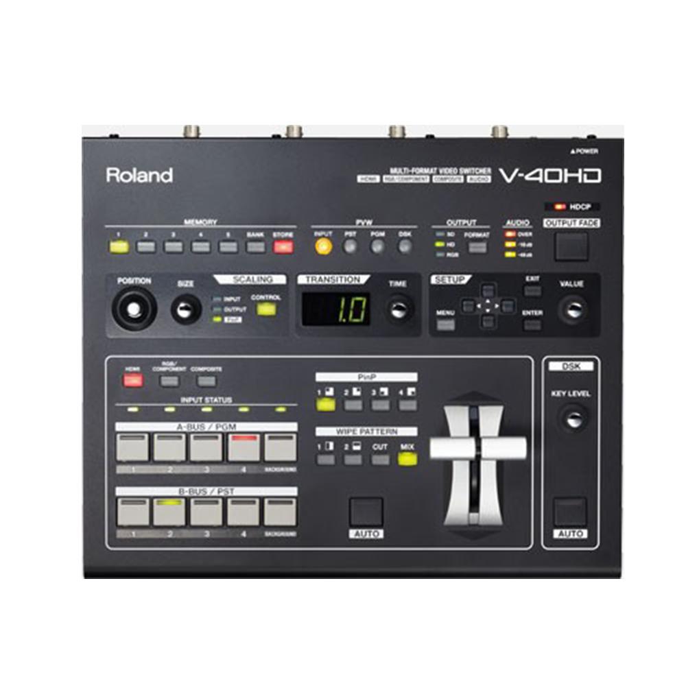 V-40HD Roland Mélangeur vidéo