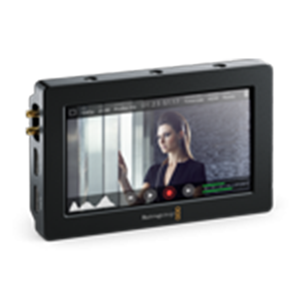 Video Assist Blackmagic Design Monitoring Blackmagic