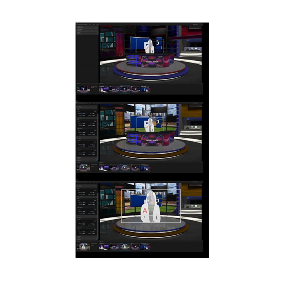 Virtual Set Editor 2 NewTek