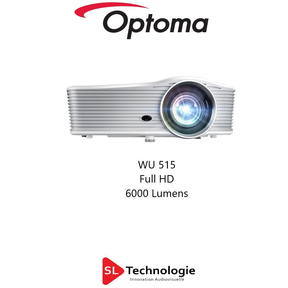 WU515 OPTOMA VP Full HD 1080p DLP 6000 lumens