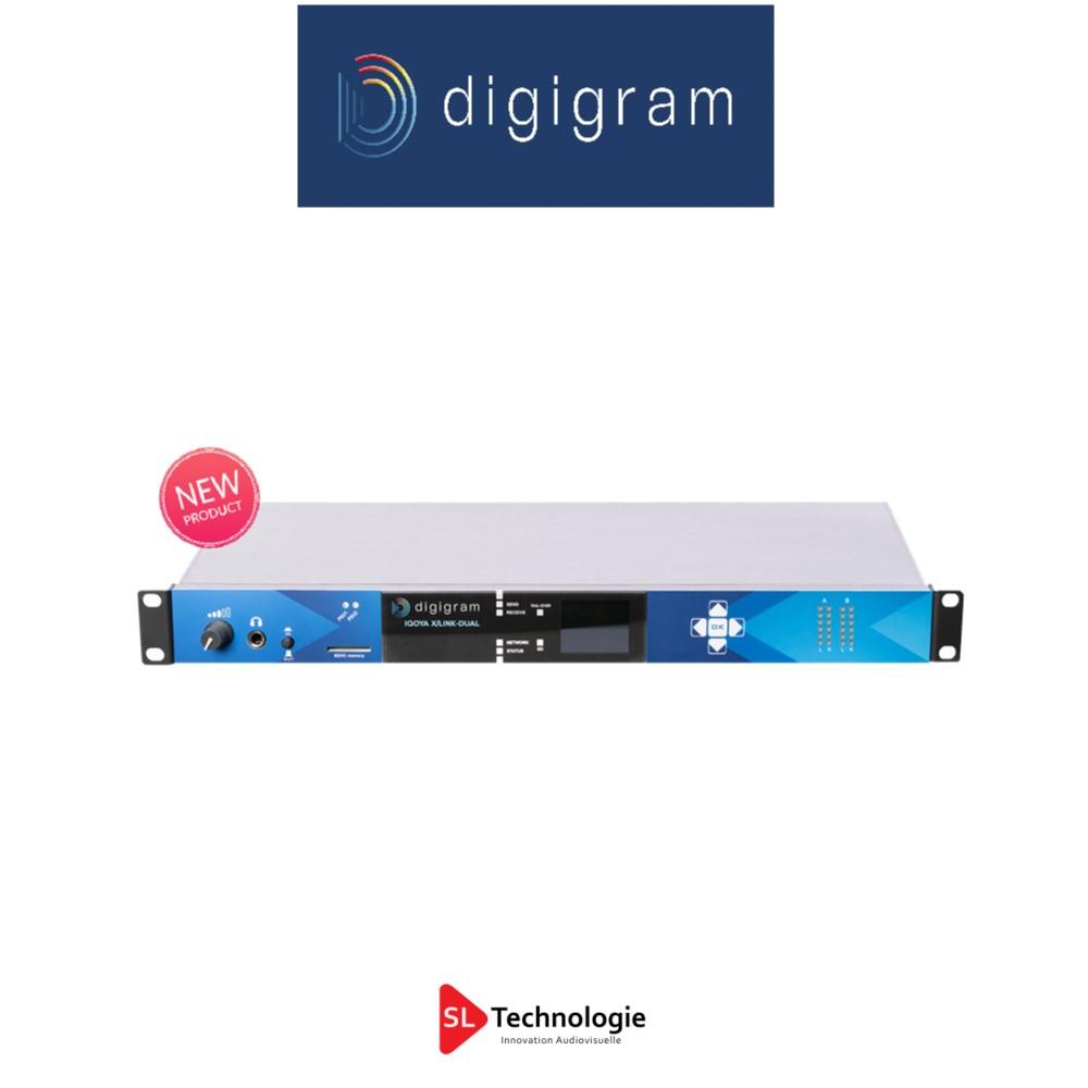 IQOYA X/LINK DUAL Digigram