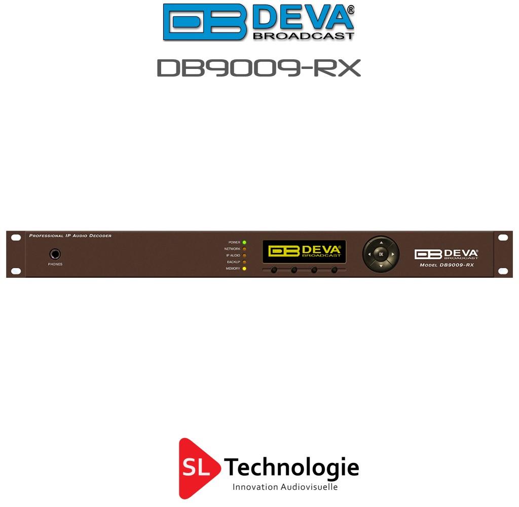 DB90009-RX DEVA Décodeur audio IP