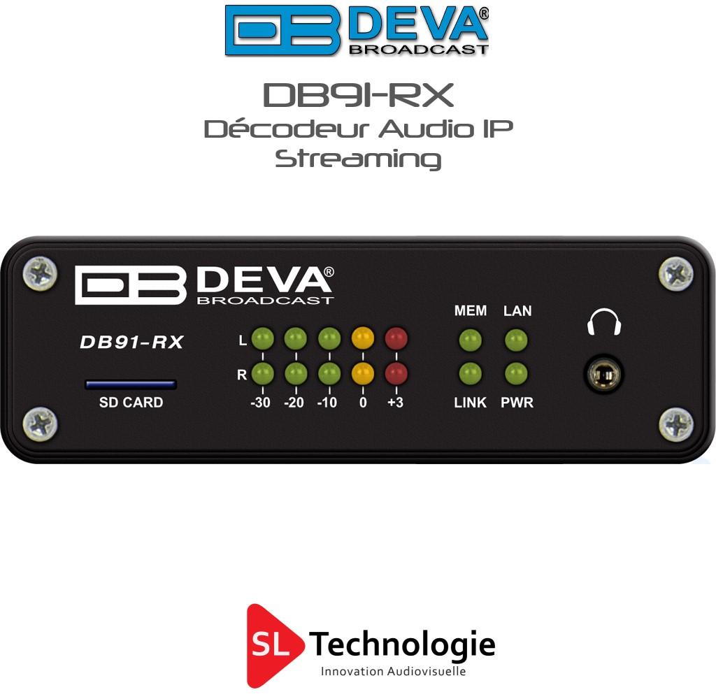 DB91-RX DEVA Décodeur audio IP
