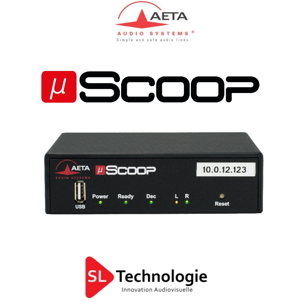 Micro Scoop Aeta Codec audio « A »