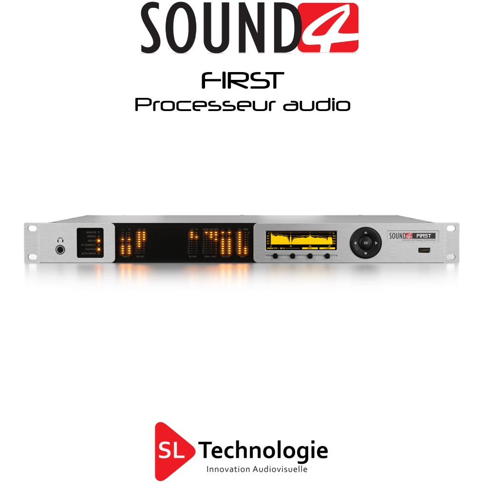 FIRST SOUND4 Processing Audio