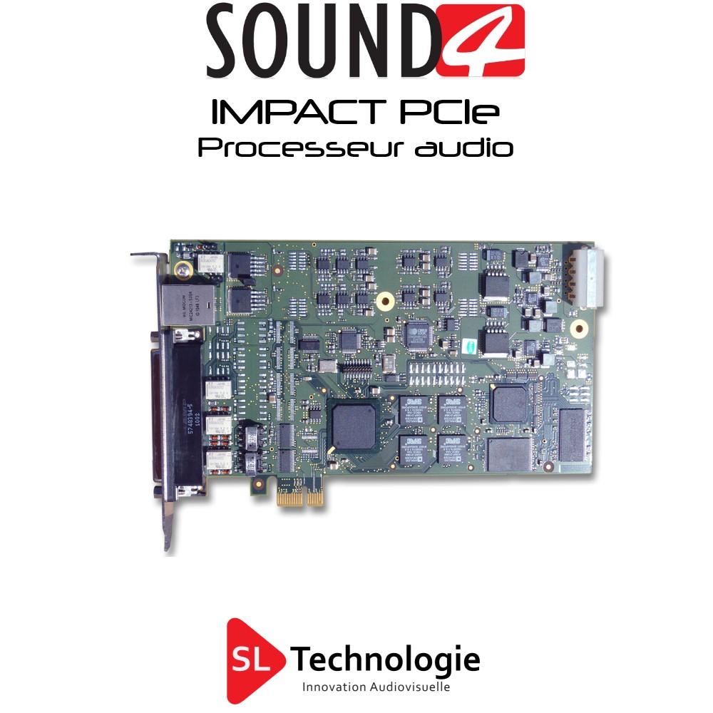 IMPACT – Carte PCIe – SOUND4