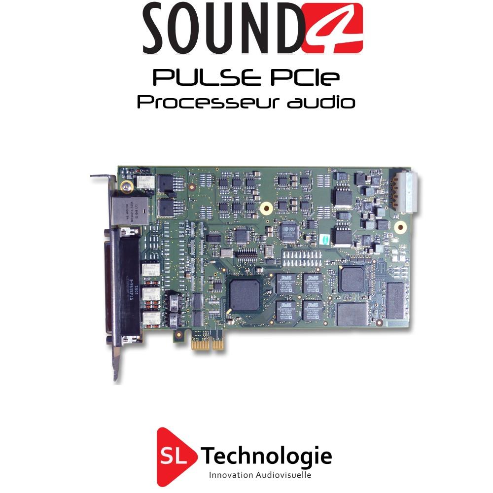 PULSE – Carte PCIe – SOUND4