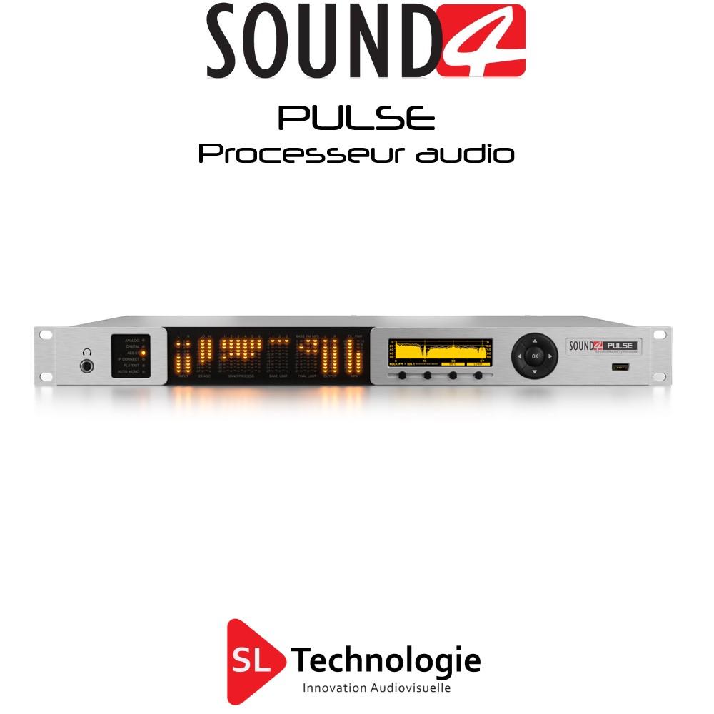 Pulse SOUND4 Processing audio