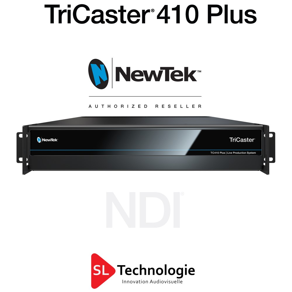 Tricaster TC410 Plus NewTek