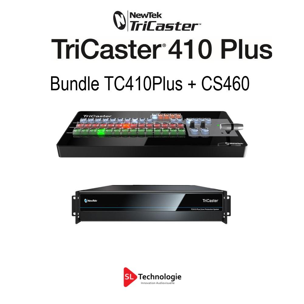 Tricaster TC410 Plus NewTek – Bundle