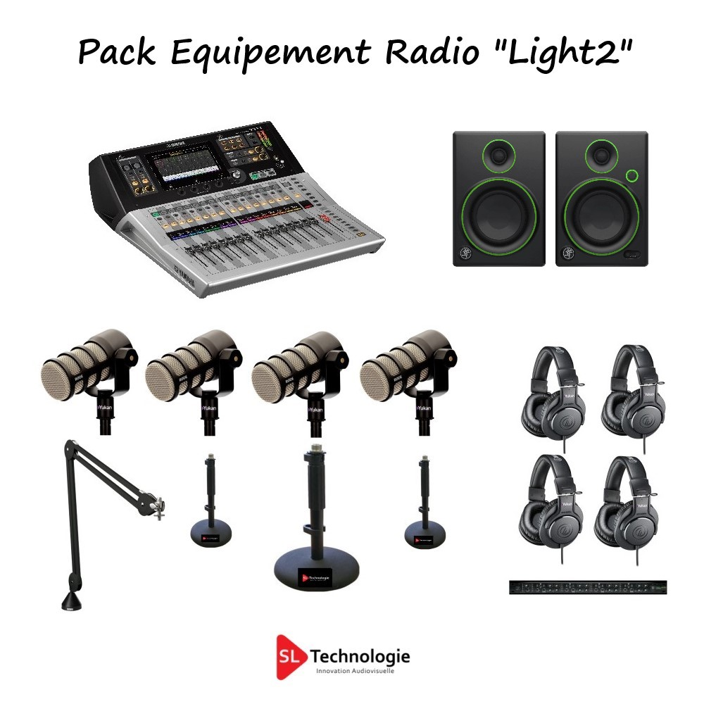 Pack Equipement Radio « Light2 » 4 Micros