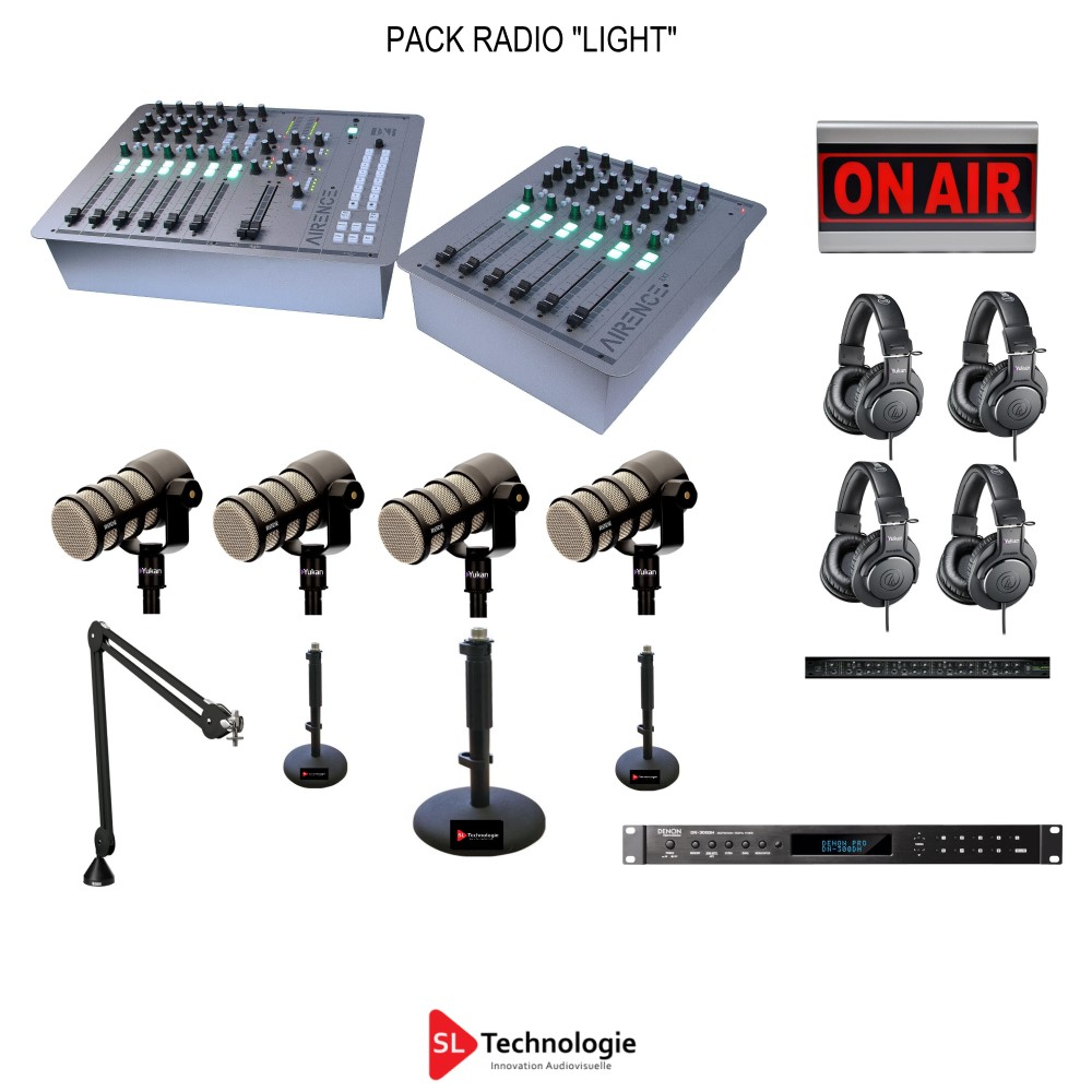 Pack Radio « Light » 4 Micros