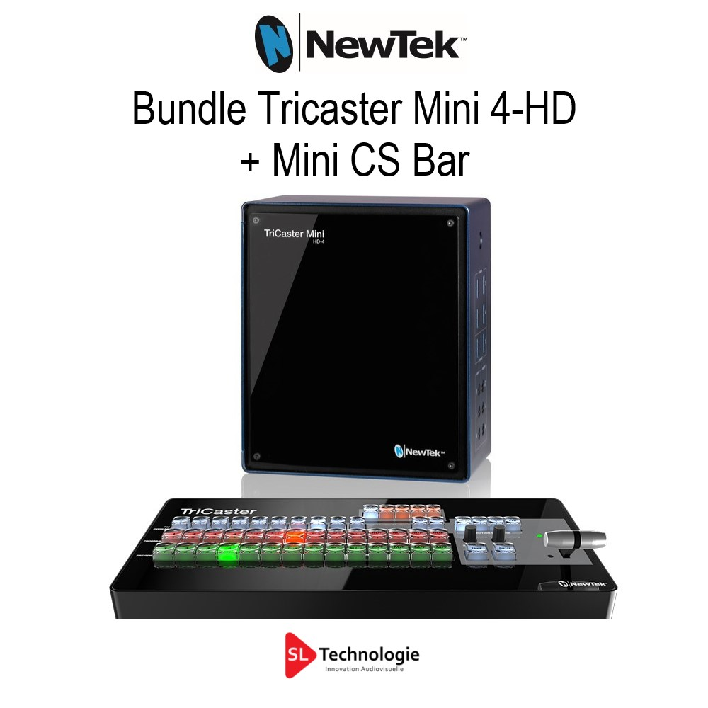 Tricaster Mini 4-HD + MiniCS Bundle