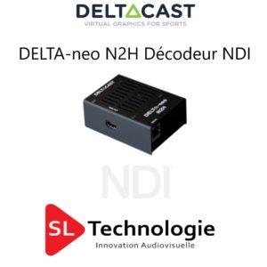 DELTA-neo N2H Décodeur NDI vers HDMI