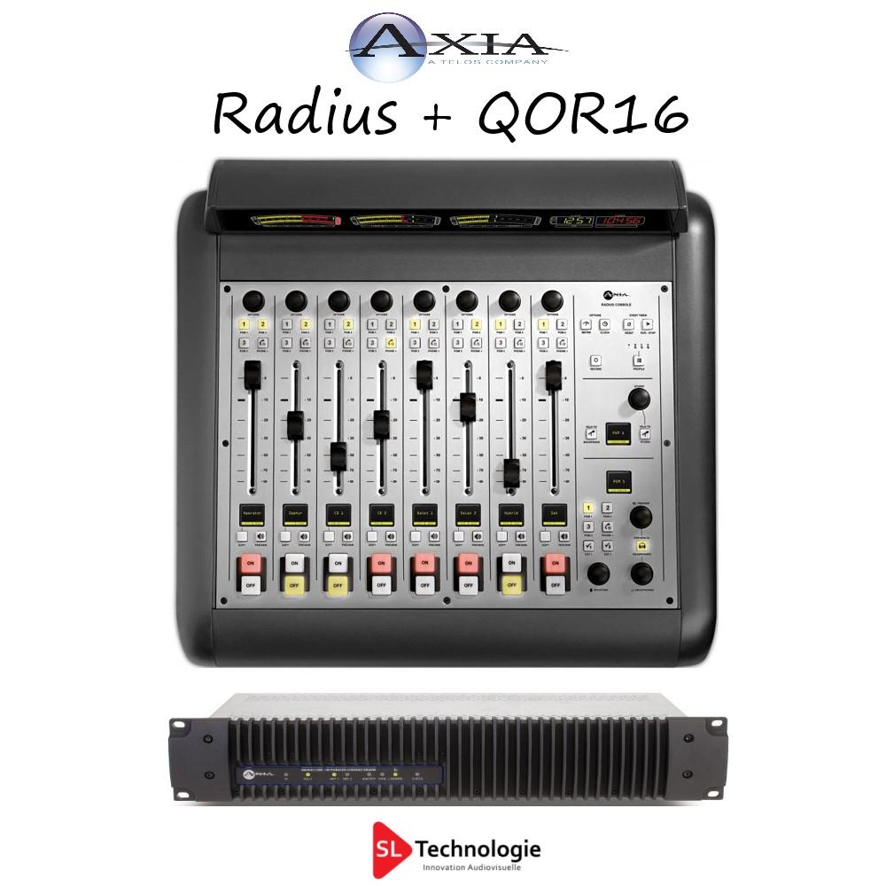 Radius + QOR16 AXIA