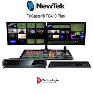 Nouveau Tricaster NewTek TC410 Plus – NDI intégré