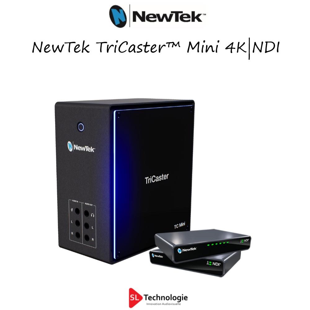 TriCaster™ Mini 4K|NDI NewTek