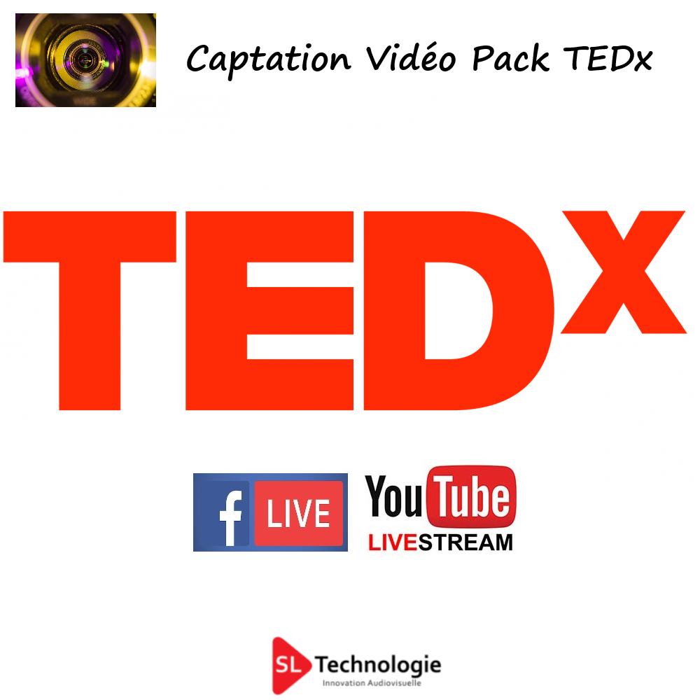 Pack TEDx Captation Vidéo