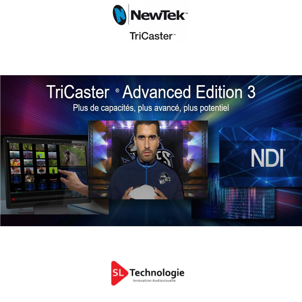 Read more about the article TriCaster ® Advanced Edition 3