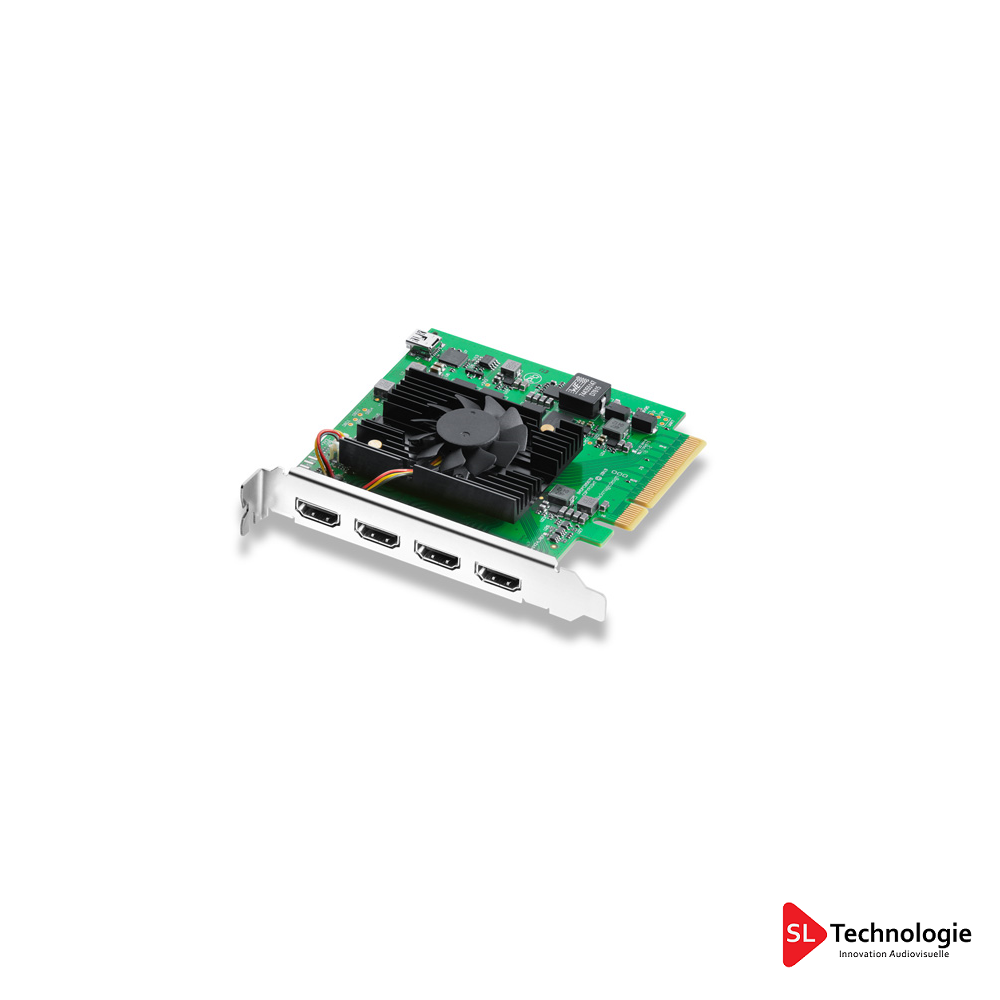 DeckLink Quad HDMI Recorder BlackMagicDesign
