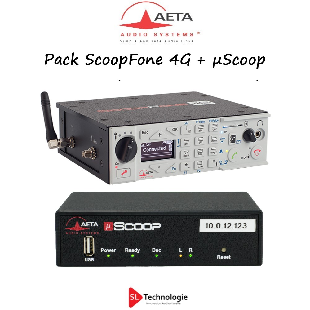Pack ScoopFone 4G + µScoop AETA