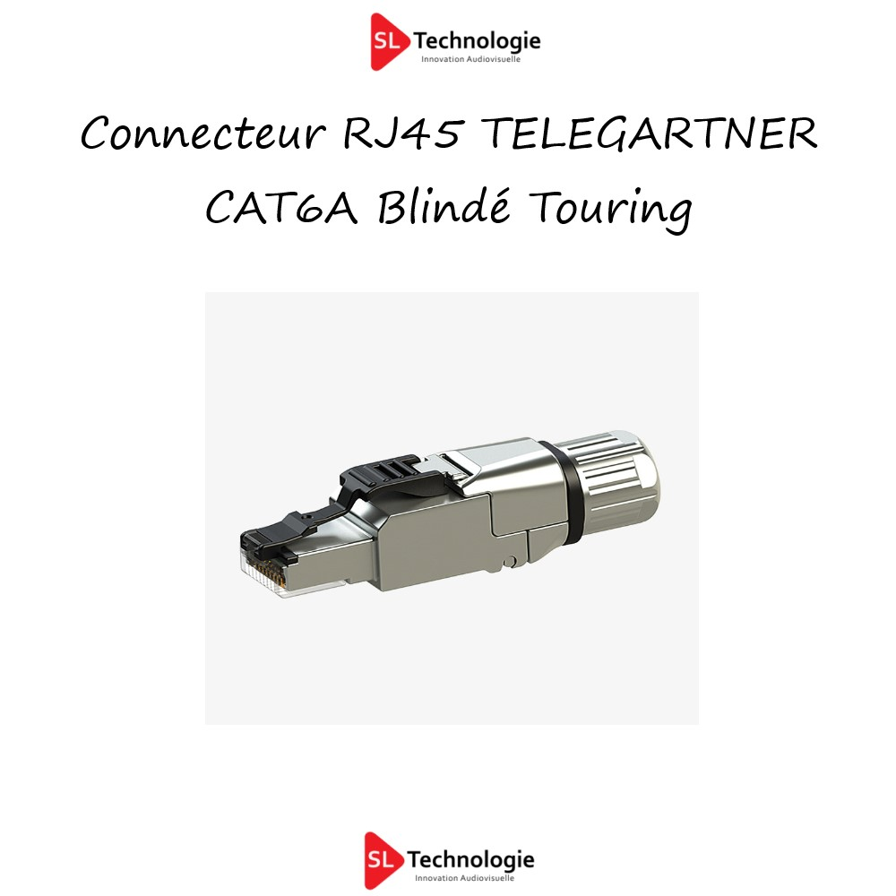 Connecteur RJ45 TELEGARTNER