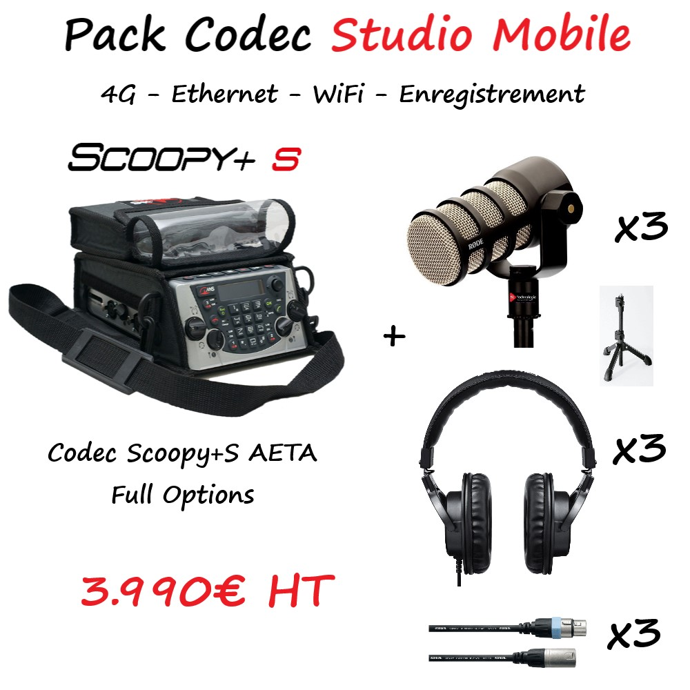Pack Codec Studio Mobile