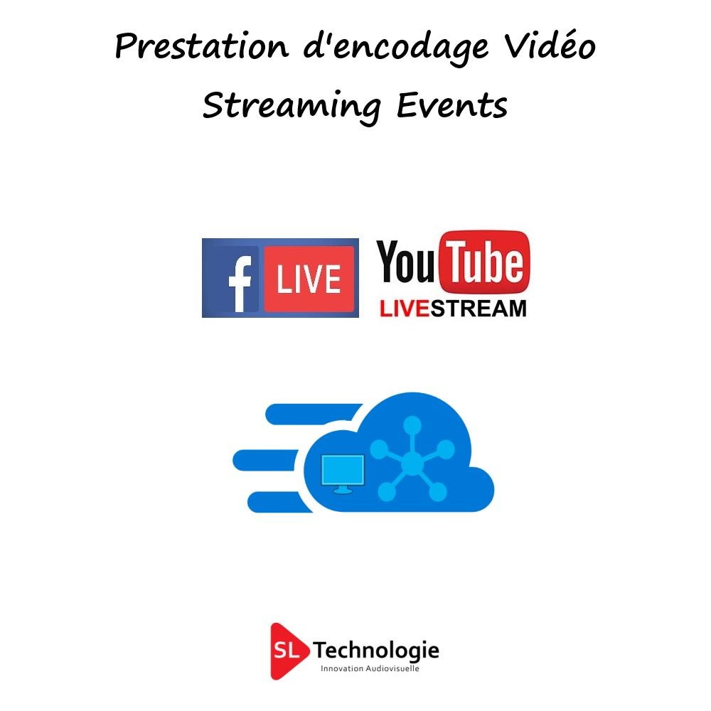 Encodage Vidéo Streaming Prestation Technique