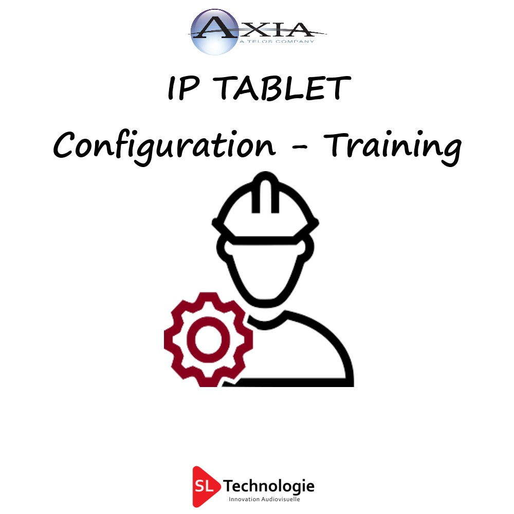 Configuration IP Tablet