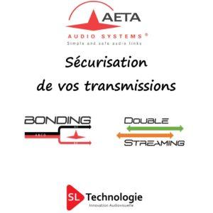 Liaison IP Sécurisée – Codec Audio AETA