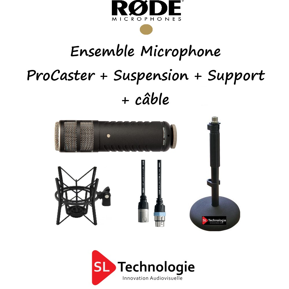 Procaster RODE + PSM1 + DS1 + Câble
